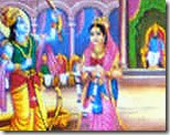[Sita and Rama's wedding]