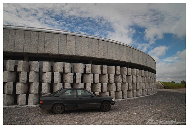 Grunwald, muzeum. Jakiej innej marki samochodu można się było spodziewać?