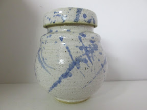 TA Psalm Pottery Jar