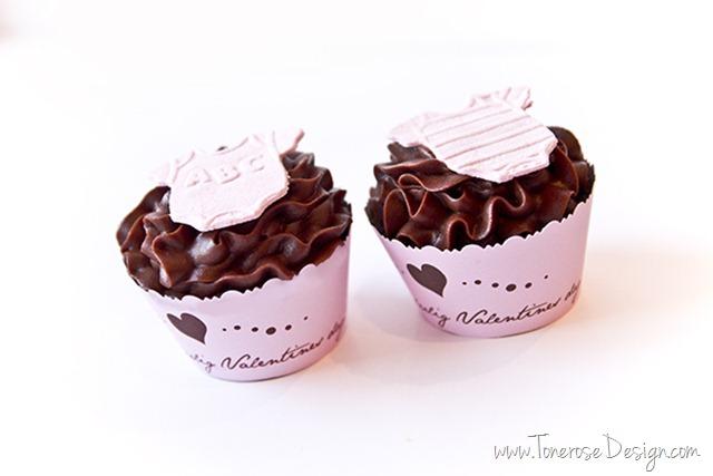cupcakes til barselbesøk baby cupcakes dåp IMG_4042