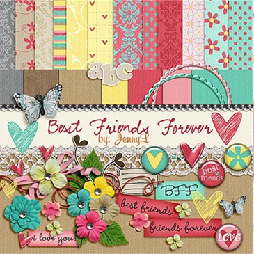 best friends forver kit