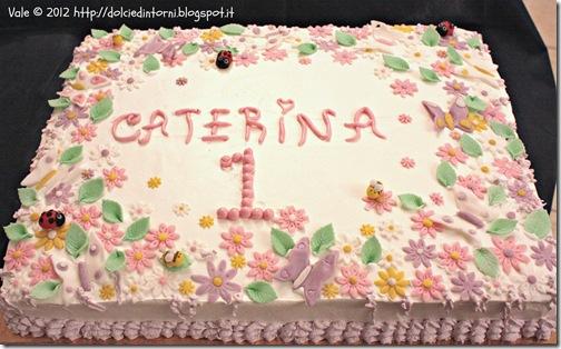 Torta primavera x Caterina 1 anno
