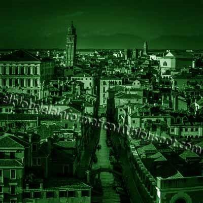 Visión nocturna en fotografía con Photoshop - Imagen después de aplicar Equilibrio de color