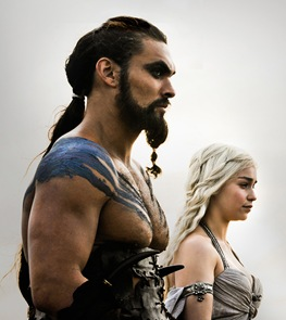 Khal Drogo en Game of Thrones
