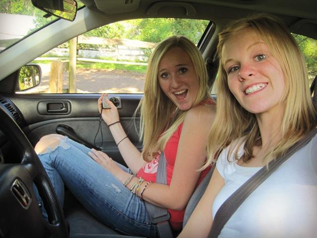 field driving