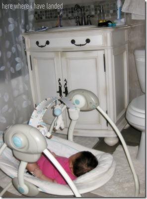 BabyInBathroom