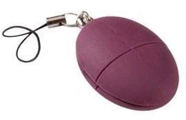 Plum USB flash drive 