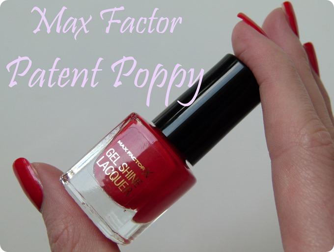 Patent Poppy Nagellack