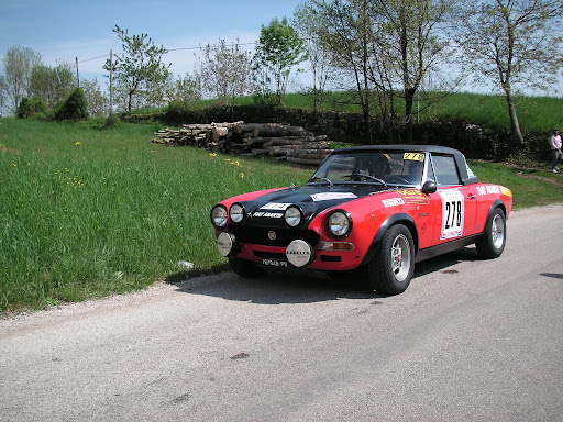 Fiat 124 Abarth Rally Rally