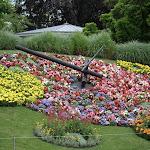 Reloj del Jardin Anglais
