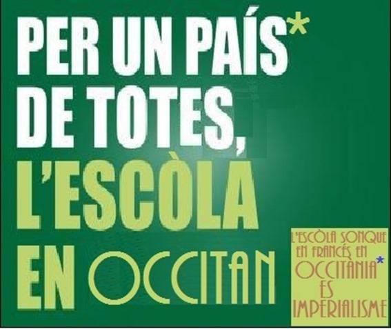 Ensenhament de l'occitan en Occitània