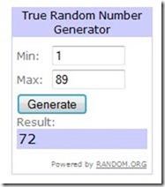 Winner #2 Random