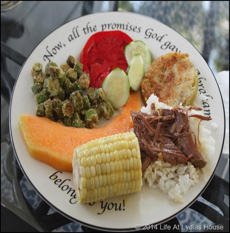 fresh veggie plate