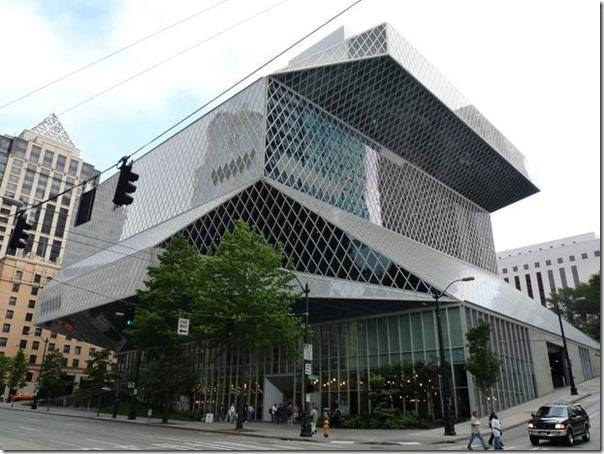 01 Biblioteca Central de Seattle