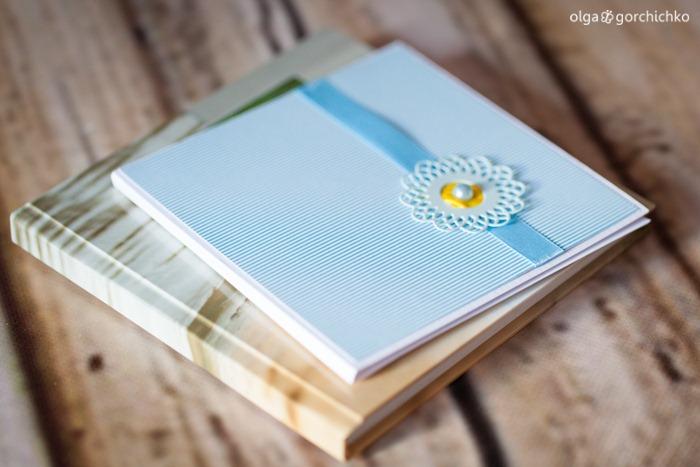 Минибук и конверт для диска