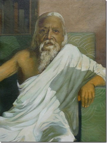 Painting of rabindranath tagore