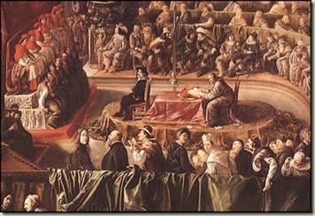Tribunal Eclesiástico da Inquisição 011b Galileu