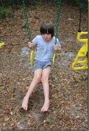 Aleksa swinging 06-2011