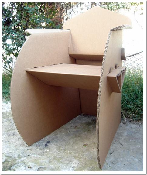 Intervenci n creativa muebles reciclados for Muebles con cosas recicladas