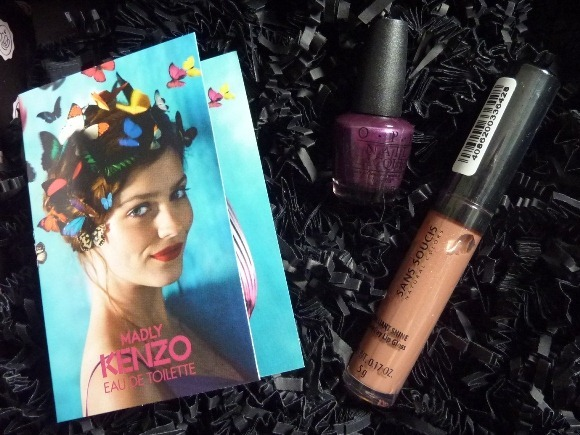 Glossybox August 2012 f