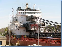 8149 Port Colborne - Lock 8 Gateway Park - RT HON PAUL J MARTIN self unloading lake freighter