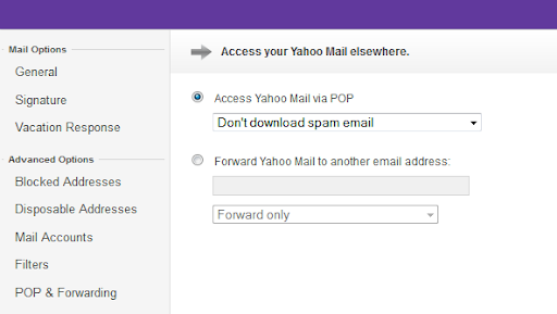 Yahoo Mail Brings POP, Disposable IDs, Mail Forwarding and More to ...