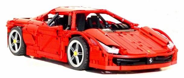 Ferrari apanhando da Lego (4)