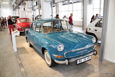 Škoda 1000MB im Škoda Museum 2013