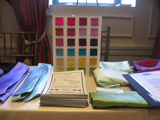 Tie Crafters, one of our favorite sources for custom accessories for the groom, presented some of their work.