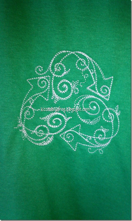 Recycle Scroll work Urban Threads