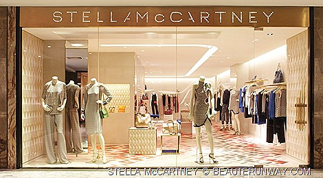 STELLA McCARTNEY ready-to-wear,  shoes,  bags,  sunglasses  lingerie SPRING SUMMER 2012 COLLECTION SINGAPORE FLAGSHIP BOUTIQUE AT THE HILTON SHOPPING GALLERY