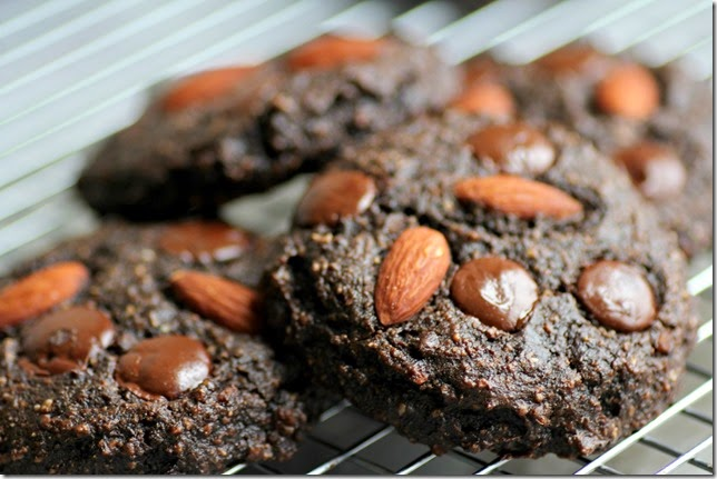 Chocolate Almond Cookies3