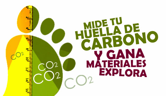 ¡Gana materiales EXPLORA midiendo tu huella de carbono!