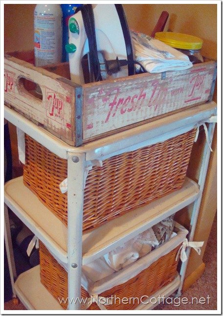 ironing cart @northern cottage