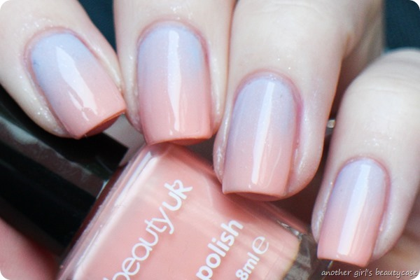 Frischlackiertchallenge Gradient Pastel Essie Rock The Boat  Beauty UK (1 von 5)