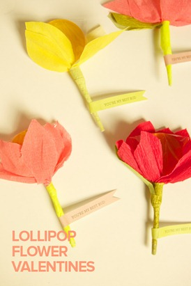 Lollipop Flowers - Oh Happy Day