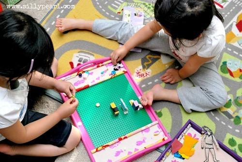 KidsActivityTrayForLego