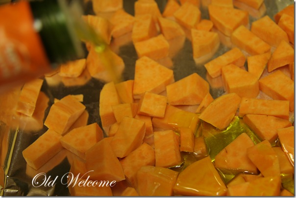olive oil sweet potato old welcome
