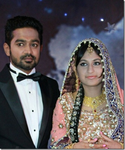 Asif ali marriage reception pic2
