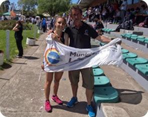 La deportista de Mar de Ajó, Abril Freire, consiguió la segunda medalla para La Costa
