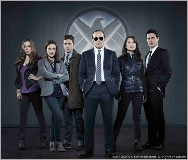 The cast of MARVEL'S AGENTS OF S.H.I.E.L.D. CLICK to visit the official show site.