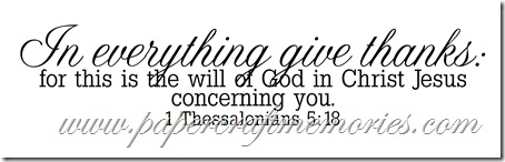 I Thessalonians 5:18 WORDart by Karen for WAW personal use
