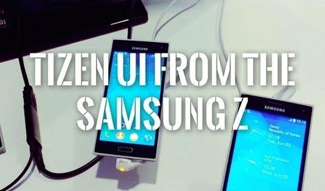 Tizen in Samsung Z