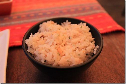 昆山夢田香草,鮭魚拌飯