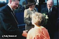 Een hand van de burgemeester - Foto: A v.d. Veen - de Lange - Lemele