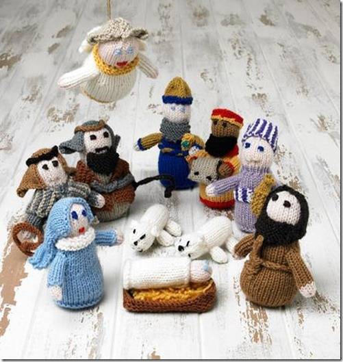 Knitting Dragonflies: Knit a Nativity Set