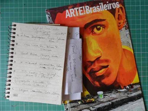 Anotações e Especial ARTE!Brasileiros set dez 2014_ML2014