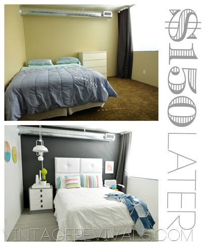 $150 Before and After Room Makeover