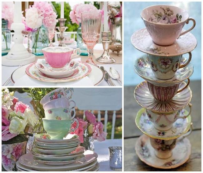 Tazze tea party