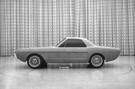 Ford Mustangs That Never Were: 1964 two-seater study